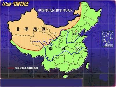 中国的季风气候